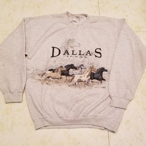 Vintage | Dallas Texas Souvenir 90's Sweatshirt